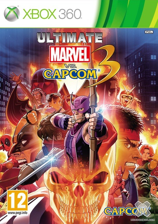 Copertina di Ultimate Marvel vs. Capcom 3
