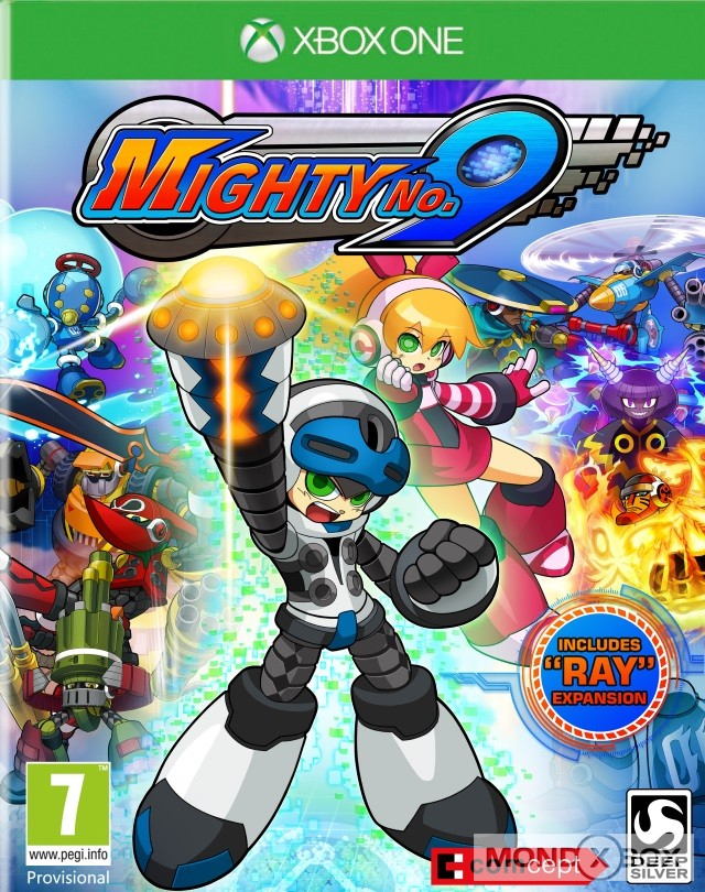 Copertina di Mighty No.9