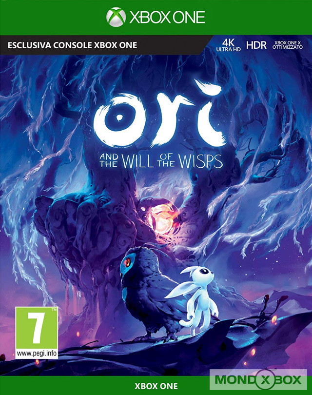 Copertina di Ori and the Will of the Wisps