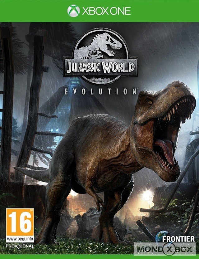 Copertina di Jurassic World Evolution