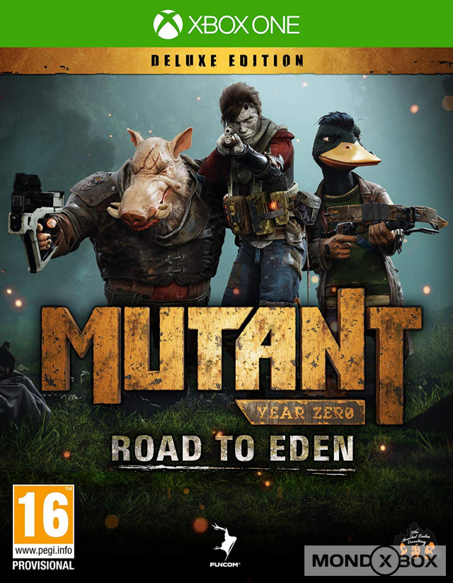 Copertina di Mutant Year Zero: Road to Eden