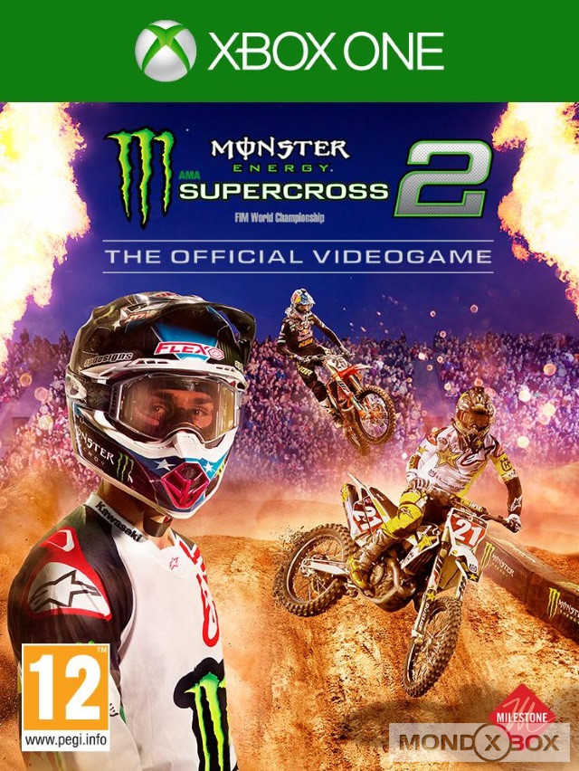 Copertina di Monster Energy Supercross - The Official Videogame 2