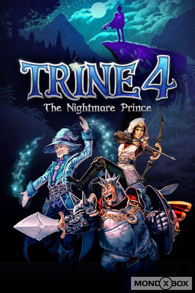Copertina di Trine 4: The Nightmare Prince