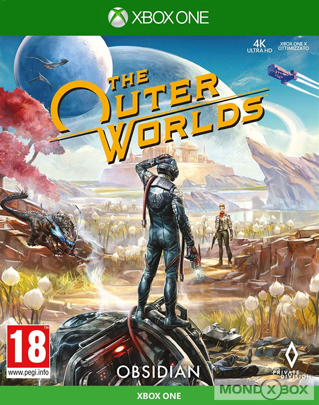 Copertina di The Outer Worlds