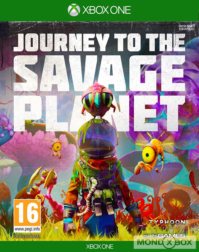 Copertina di Journey to the Savage Planet