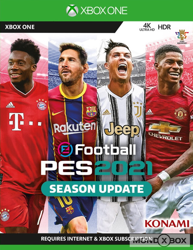 Copertina di eFootball PES 2021 Season Update