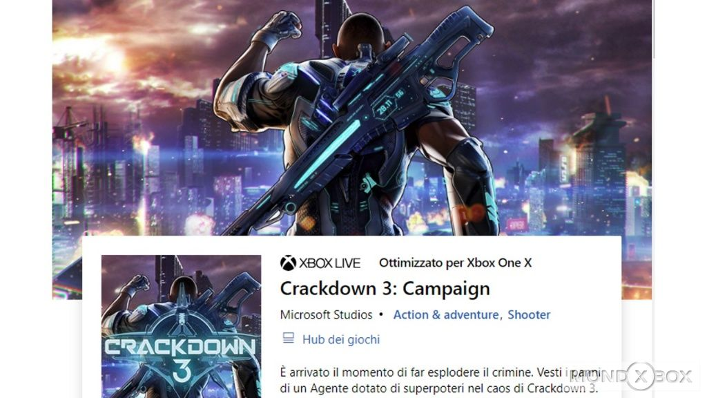 crackdown xbox one multiplayer